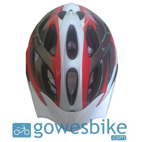 Helm Avand A20 Hitam Putih Helm Sepeda Mtb Helm Roadbike Ringan A 20 G helm sepeda avand a 06 hitam merah putih jual baju jersey celana sepeda mtb