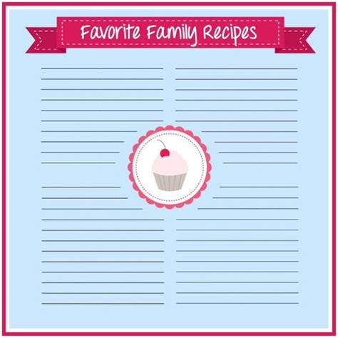 large printable recipe cards jumbo printable recipe cards allfreepapercrafts com