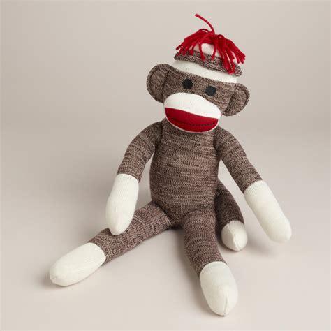sock monkey classic sock monkey world market