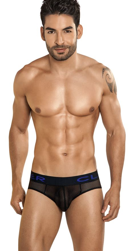 Mesh Briefs clever 5190 calipso mesh brief black