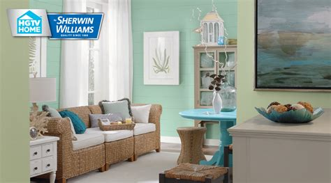 coastal cool paint color collection hgtv home by