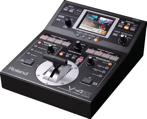 Daftar Audio Mixer Built Up roland v 4ex 4 channel digital mixer with effects