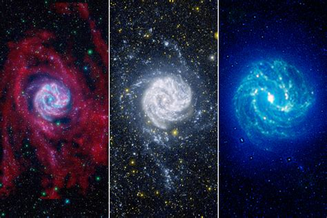 colors in space white and blue in space photography time