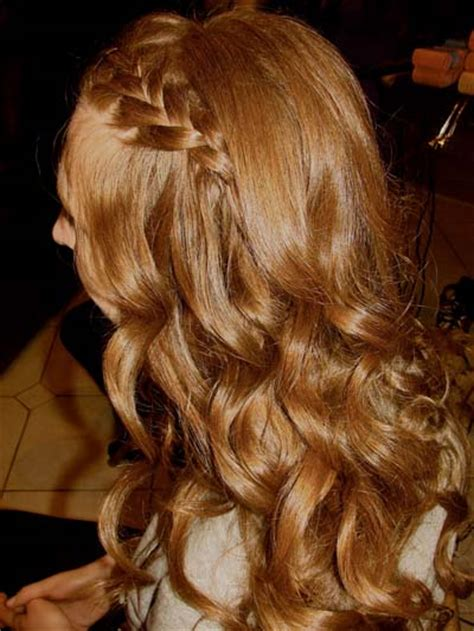 hairstyles let down notes from v side braid disappearing into hair let down