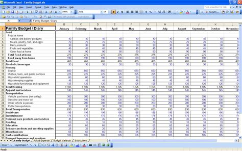 expense tracking spreadsheet template db excelcom