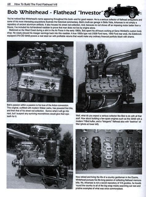 flathead ford  book engine builders handbook       ebay