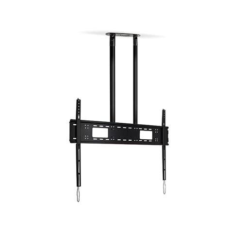 Tv Pole Mount Floor To Ceiling by B Tech Heavy Duty Dual Pole Floor Ceiling Mount Tradeworks
