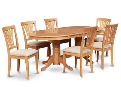 Meja Makan Oval Minimalis meja makan oval 6 kursi sederhana minimalis zaman