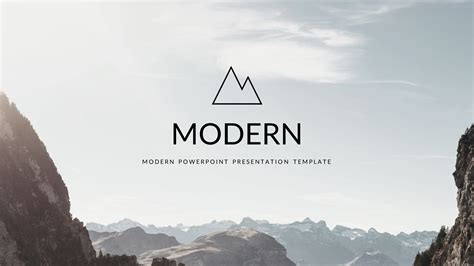 Modern Powerpoint Template By 5yue Graphicriver Modern Powerpoint Templates