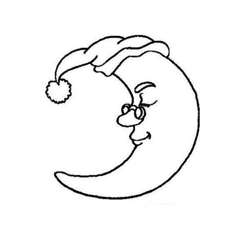 Coloriage Lune A Imprimer Gratuit