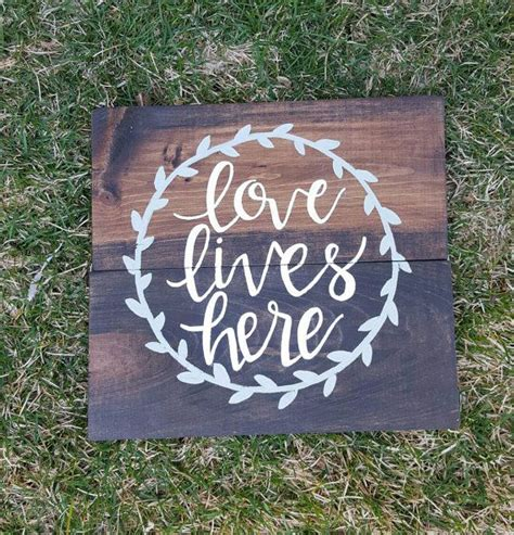 Handmade Signs Wood - best 25 wood signs sayings ideas on home