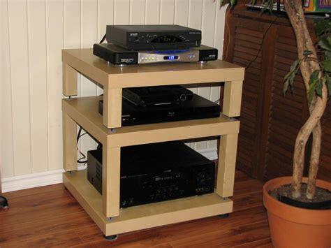 hifi rack ikea diy ikea lack table audio rack