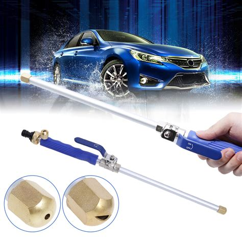 Jetting Stick Power Spray Ikame high pressure water gun power washer spray nozzle water hose wand attachment dropshipping in