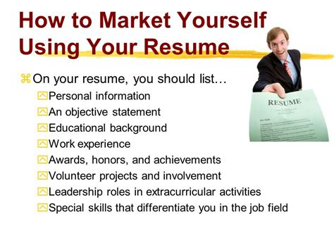how to market and sell yourself to employers with your cv vacancies nigeria