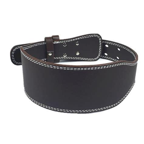 Fitness Senam Leather Fitness Belt weight lifting belt high quality pu leather belt