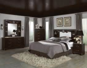 bedroom decor with black furniture photos and