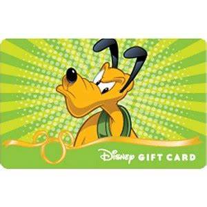 Bam Gift Card - your wdw store disney collectible gift card fab 5 bam pluto