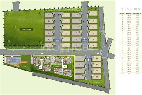 layout design villa bscpl bollineni homes villa in madhapur hyderabad price