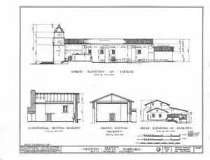 Mission Santa Barbara Floor Plan by Mission San Fernando Rey De Espana Mission San Diego De