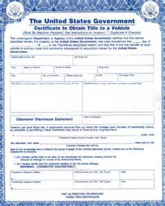 How To File For A Lost Automotive Title In Tex Dot Org