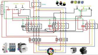 two speed motor starter connection and working function animation for wiring of
