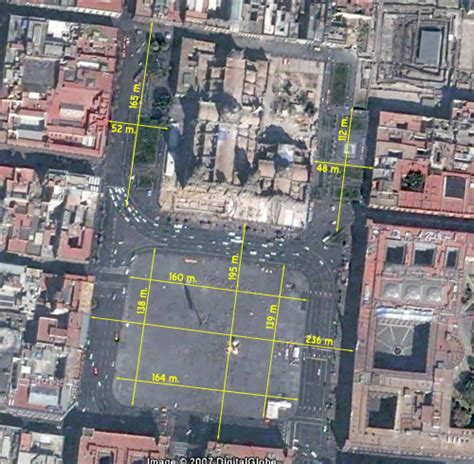 Imagenes Satelitales Del Zocalo Capitalino | el zocalo de la ciudad de mexico 4a parte en la 233 poca