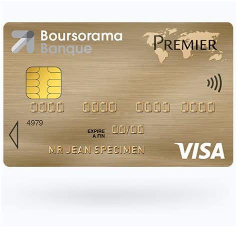 Plafond Retrait Boursorama by Carte Visa Premier Boursorama Conditions D Octroi Et