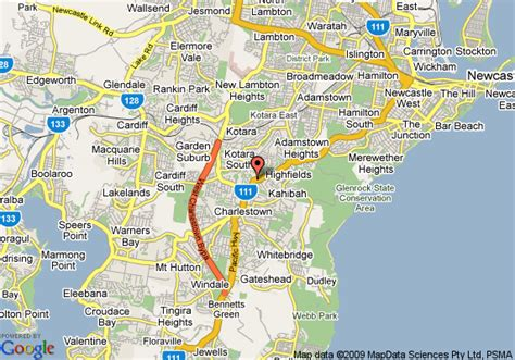newcastle australia map pin map of newcastle australia and satellite images on