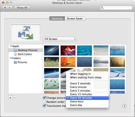 wallpaper slideshow macbook pro easy tip to create mac desktop slideshow with pictures