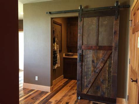Sliding Barn Door Diy How To Make A Sliding Barn Door Free Plans Diy Projects With Pete