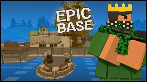 Cool House Blueprints Unturned 3 0 Building Epic Pvp Base Youtube