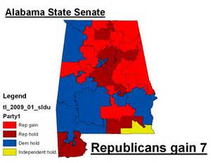 alabama political map southern realignment nears completion 171 mattsmaps