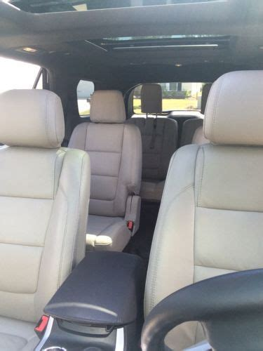 purchase  xlt white leather seats sunroof tow package wd bluetooth bucket seats