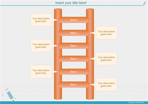 Step Ladder Card Template by Growth Ladder Diagram Free Growth Ladder Diagram Templates