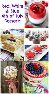 4th of july desserts red white blue treats
