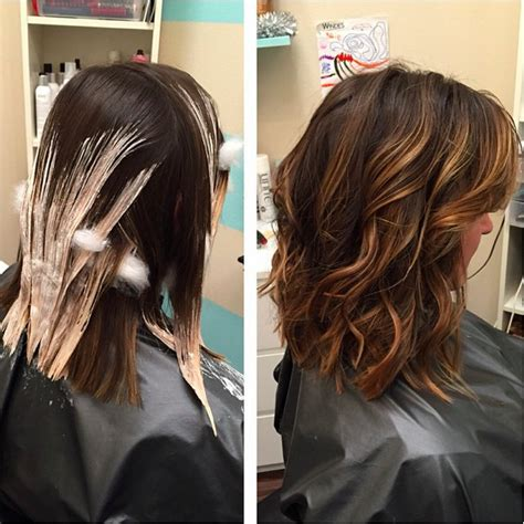 Balayage Highlights Mid Length Hair Before And After | top 30 balayage hairstyles to give you a completely new