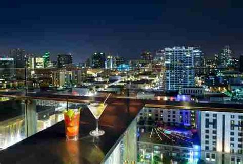 top bars in downtown san diego best rooftop bars in san diego for drinking outside