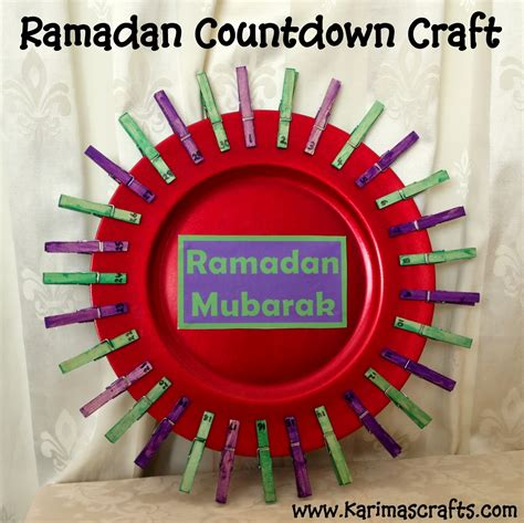 ramadan crafts for karima s crafts 30 days of ramadan crafts roundup