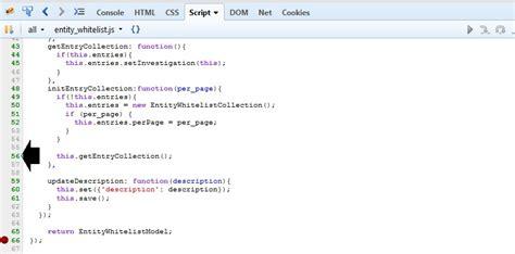 tutorial debug javascript with firebug debugging javascript firebug not allowing to set