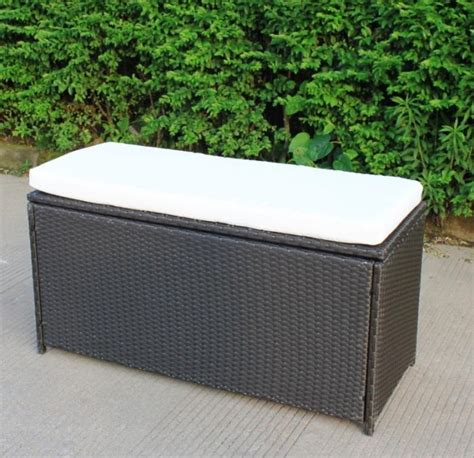 garden benches with storage 10 functional outdoor storage benches rilane