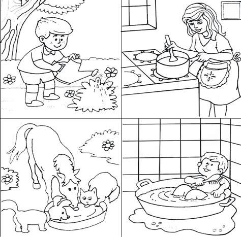 distintos usos del agua colouring pages dibujos del estado del agua para colorear imagui