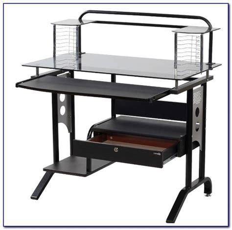 ikea glasholm glass computer desk desk home design