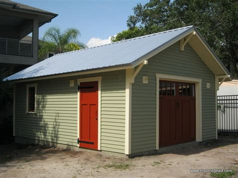 one car garage one car bungalow garage shed project pinterest