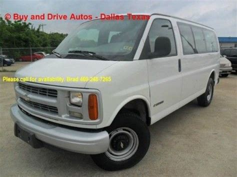 security system 2000 chevrolet express 1500 electronic toll collection purchase used 2002 chevrolet express g1500 southern comfort tv dvd leather clean carfax in