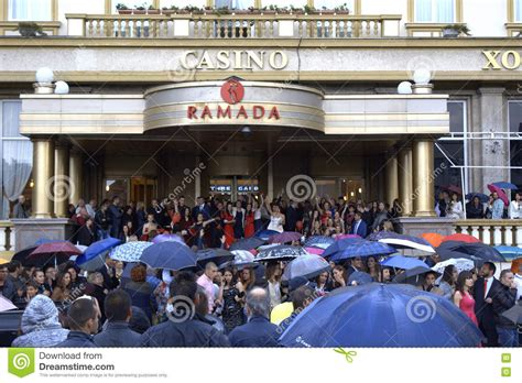 Karpet Max Plovdiv bulgarian prom at hotel entrance editorial stock