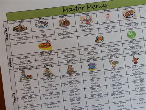 Missionary Dinner Calendar Template
