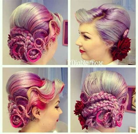 hairstyles octopus cut 52 best lovely hairdo creations images on pinterest