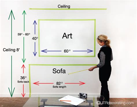 what height to hang a picture picture hanging tips by under the roof decorating on