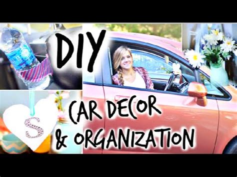 How To Decorate Your Car by Diy Car Decor Organization