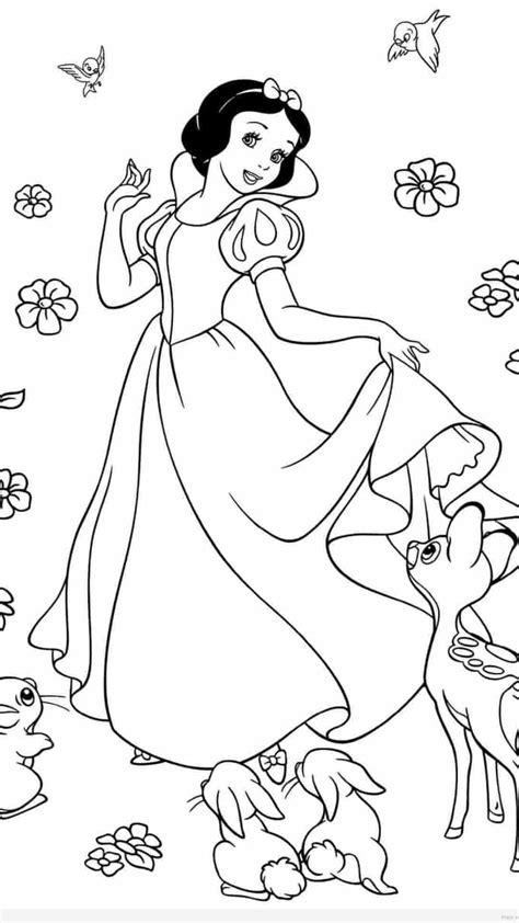 disney coloring pages snow white disney princess coloring pages snow white timykids